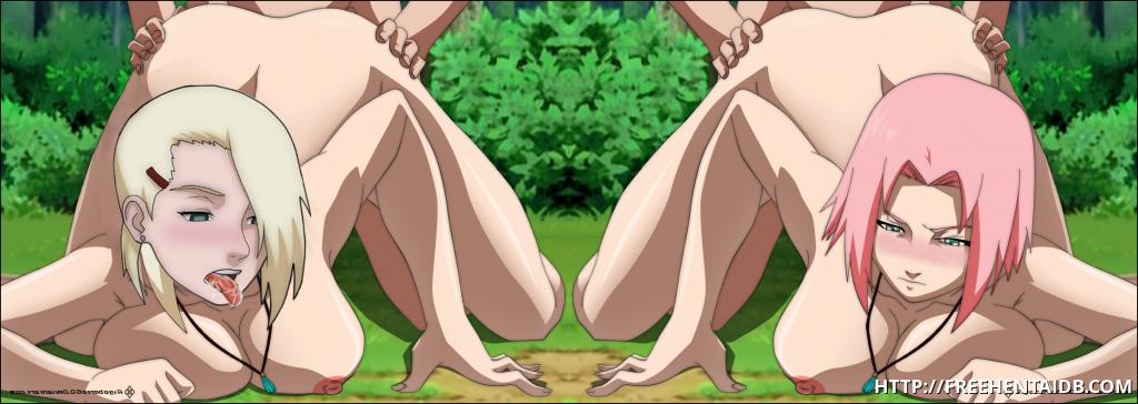 Hot nude matures outdoors